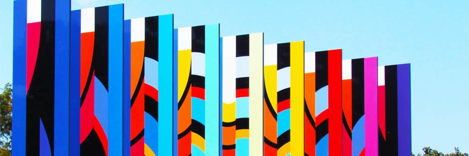 Multicoloured Poles
